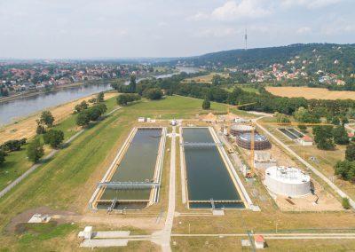 Ausbau Wasserwerk Hosterwitz, Dresden, Sächsische Zeitung 7/2019
