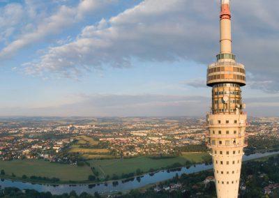nachdem Gelder vom Bund bewilligt wurden, ist der Weg zur Sanierung des Dresdener Fernsehturms frei, Sächsische Zeitung 11/2018