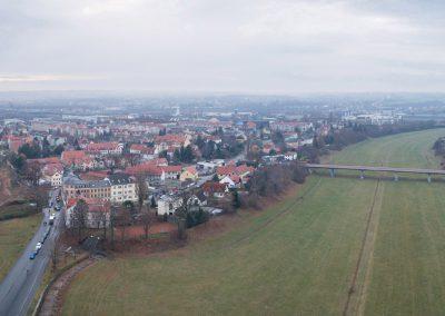 Hochwasserschutzanlagen an der Elbe, Kaditzer Flutrinne, Dresden, Sächsische Zeitung 12/2018