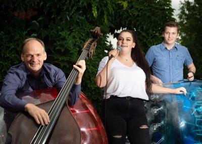 Kilian Forster - Chef der Jazztage Dresden, wird mit seiner Familienband bei der Schlössernacht spielen, Dresden, Sächsische Zeitung 7/2019