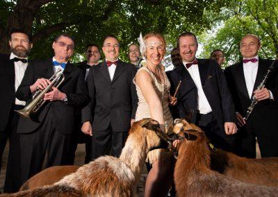 Dixieland im Zoo - Reni & die Singing Bluebirds, Zoo Dresden, Sächsische Zeitung 5/2019