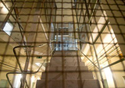 Rundgang durchs ehemalige Stasi-Gefängnis, Stasi-Gedenkstätte, Bautzner Straße,Dresden, Sächsische Zeitung 1/2017