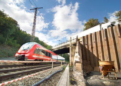 in Cossebaude wird für die Bundesstraße B6 wird eine Brücke gebaut, Dresden, Sächsische Zeitung  10/2016
