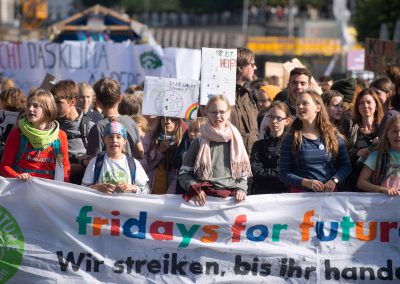 Fridays for Future, Dresden, Sächsische Zeitung 9/2019