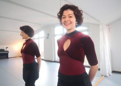 Sidonie Trévalinet hat eine Balettschule für Kinder eröffnet, Dresden, Sächsische Zeitung 1/2017
