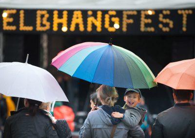 verregnetes Elbhangfest, Dresden, Sächsische Zeitung 6/2018