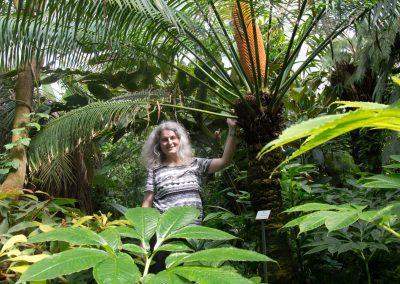 wissenschaftliche Leiterin des Botanischen Gartens, Barbara Ditsch, Dresden, Sächsische Zeitung 6/2016