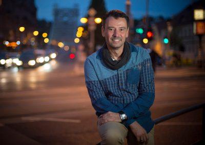 Matthias Wingerter, ist bei zwei Vätern aufgewachsen, Dresden, Sächsische Zeitung 10/2017