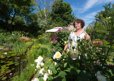 Tag der offenen Gartenpforte, Christine Treichel zeigt ihren Garten, Dresden, Sächsische Zeitung 6/2017