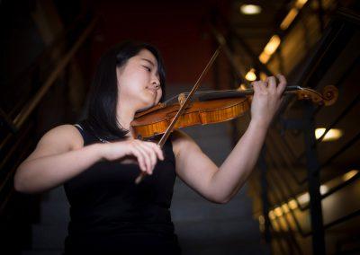 junge Musikerin der Musikhochschule Dresden tritt in der Semperoper auf, Moe Nagashima, Violine, Sächsische Zeitung 11/2017