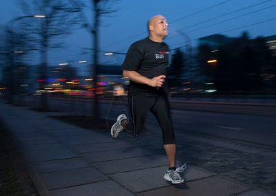 Jamil Fajed - Bundeswehrsoldat auf Schulung in Dresden wurde beim Joggen von Nazis angemacht, Sächsische Zeitung 2/2018