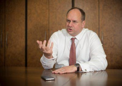 Interview Dresdner Oberbürgermeister Dirk Hilbert, Sächsische Zeitung 5/2017